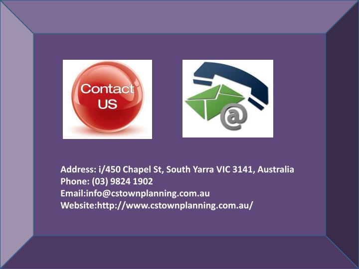 Address: i/450 Chapel St, South Yarra VIC 3141, Australia