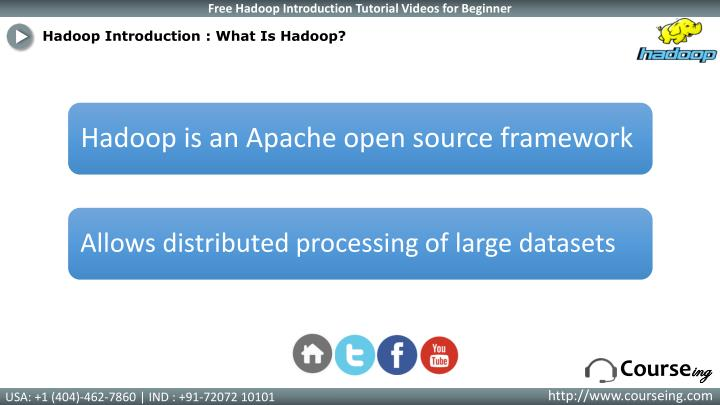 Hadoop Introduction : What Is
