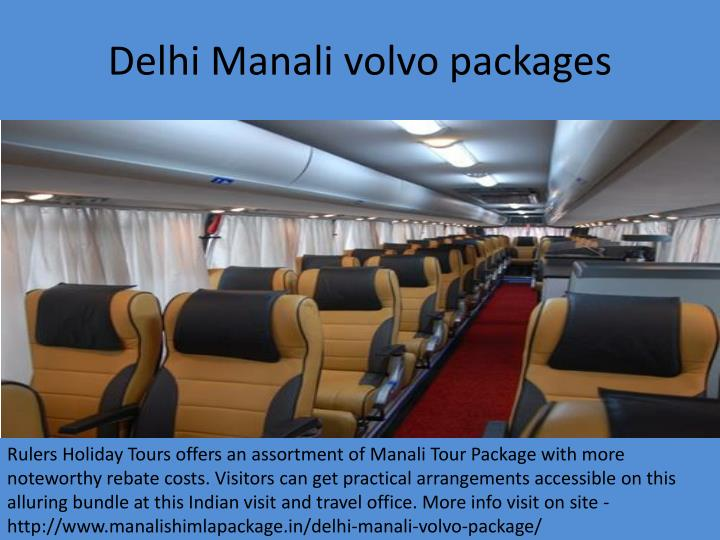 Delhi m anali volvo packages