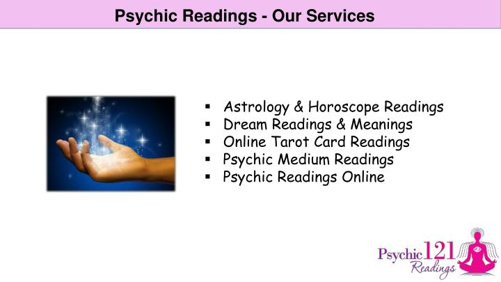 Psychic Readings - Our Services