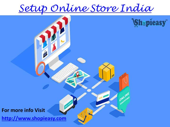 Setup Online Store India