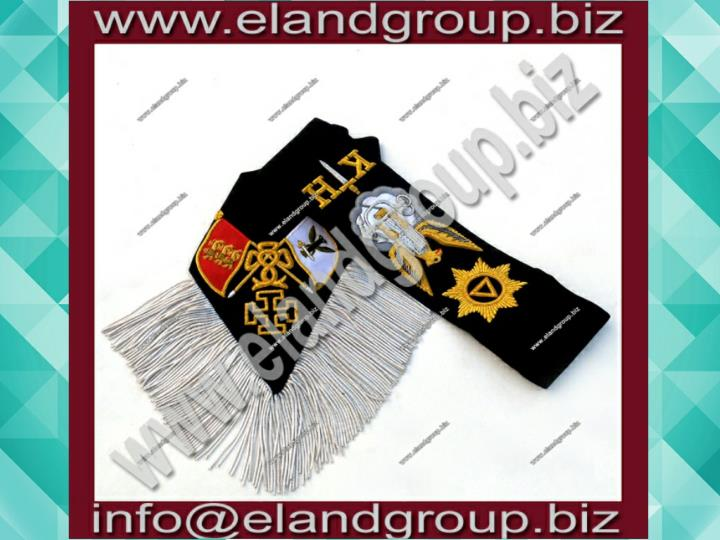 Rose croix 30th degree black sash
