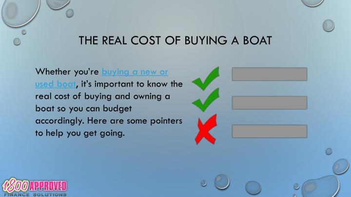 The real cost of buying a boat2