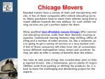 chicago m overs