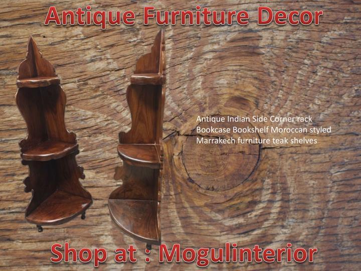 Antique Furniture Decor