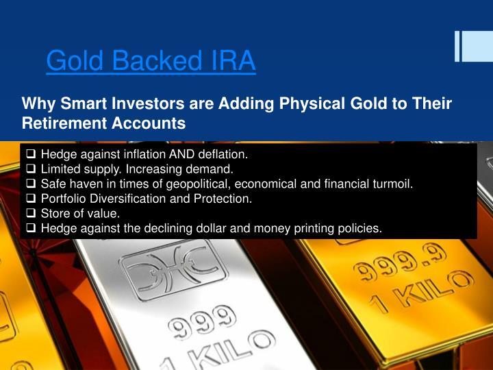 Gold Backed IRA