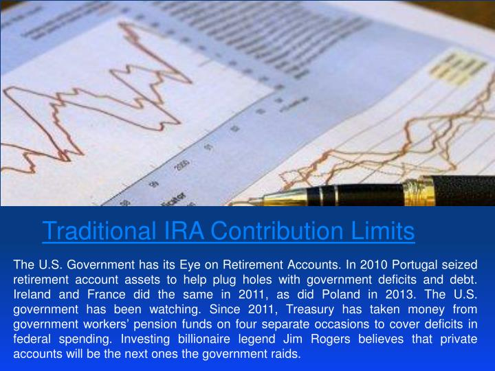 Traditional IRA Contribution Limits