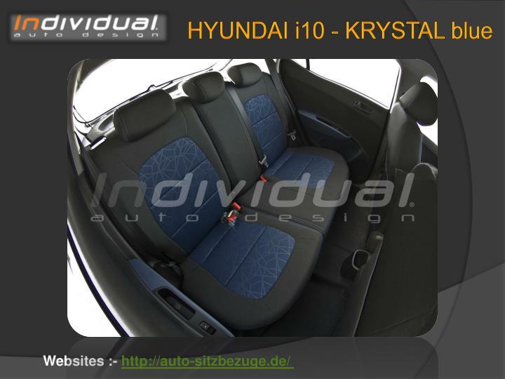 HYUNDAI i10 - KRYSTAL