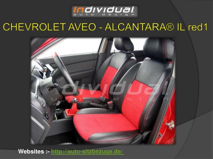 CHEVROLET AVEO - ALCANTARA® IL