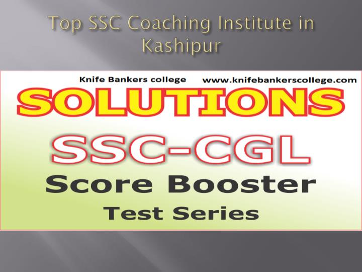 Top SSC Coaching Institute