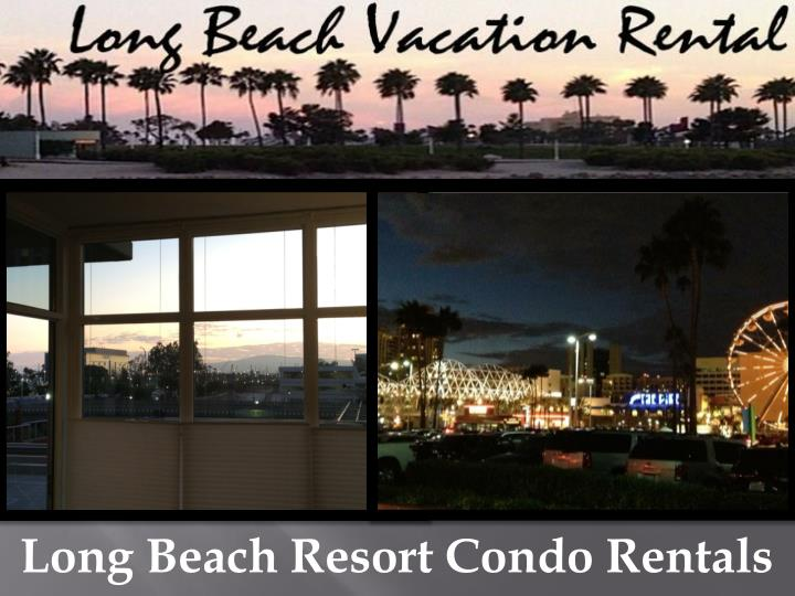Long Beach Resort Condo Rentals
