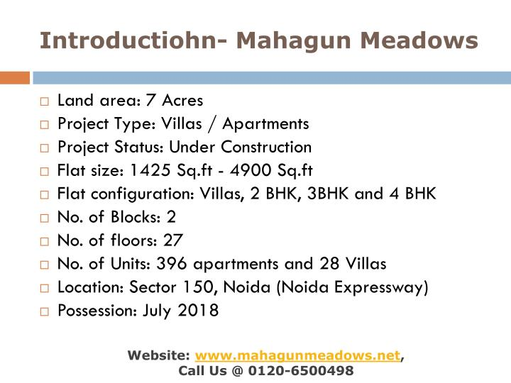 Introductiohn mahagun meadows