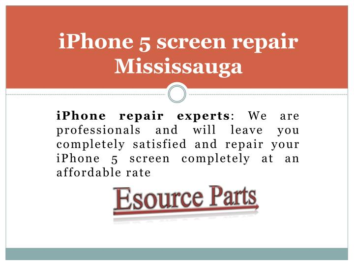 Iphone 5 screen repair mississauga