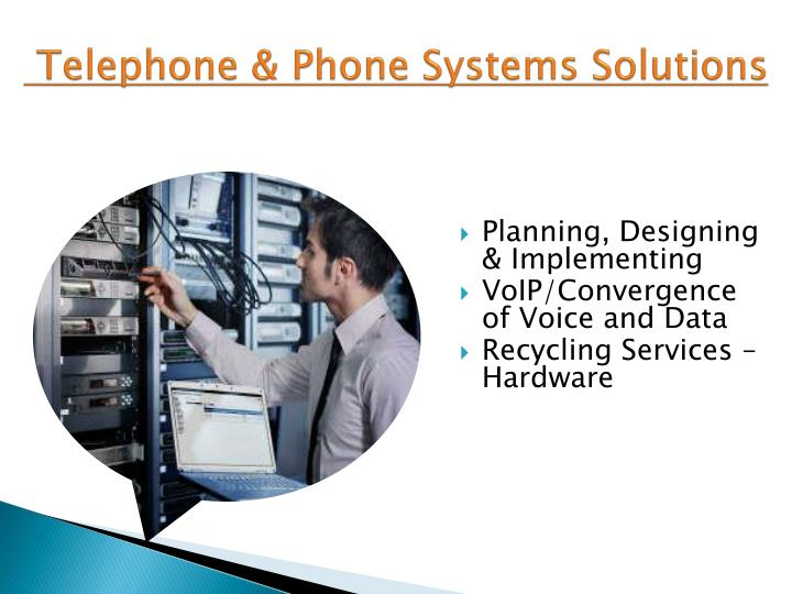 Telephone phone systems solutions
