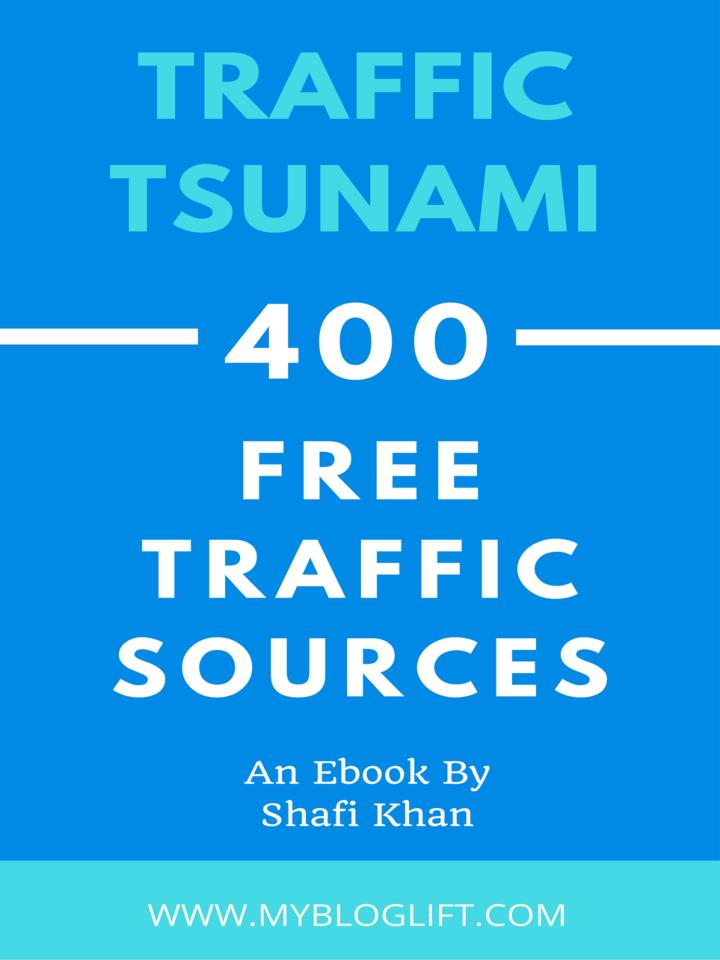 Traffic tsunami 400 high pr traffic sources to generate millions of pageviews