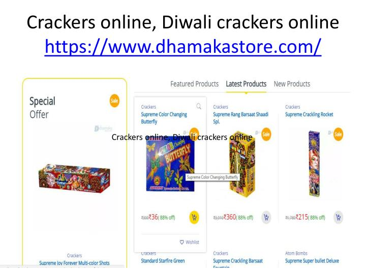 Crackers online, Diwali crackers