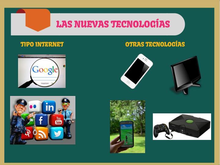 LAS NUEVAS TECNOLOGÍAS