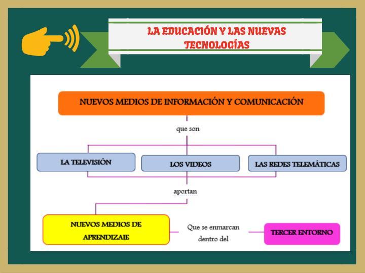 LA EDUCACIÓN Y LAS NUEVAS