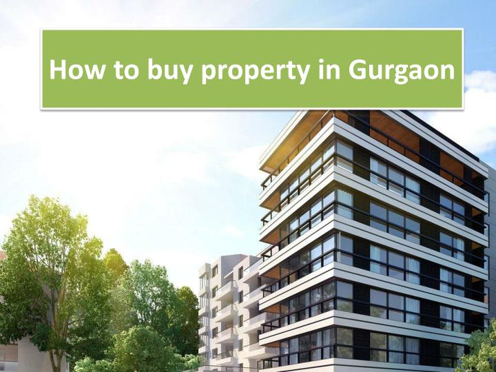 How to buy property in