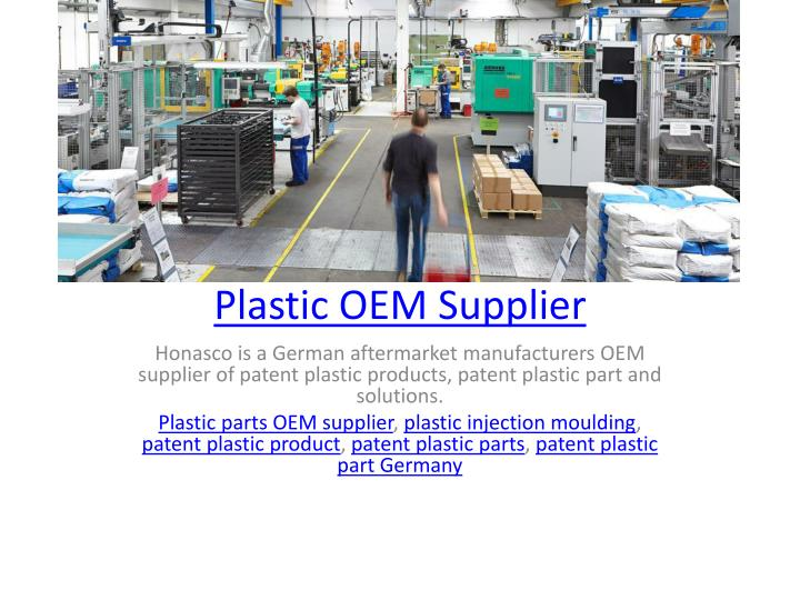 Plastic oem supplier