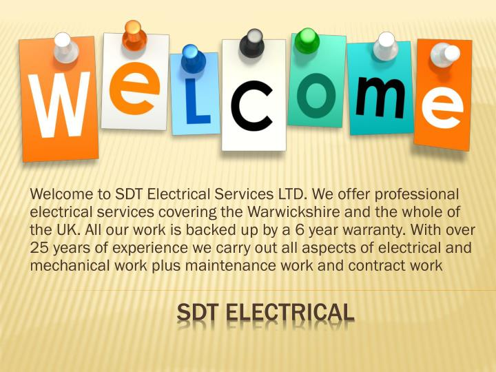 Sdt electrical
