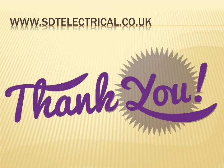 www.sdtelectrical.co.uk
