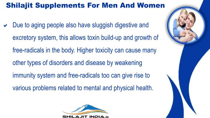 Shilajit Supplements For Men And Women