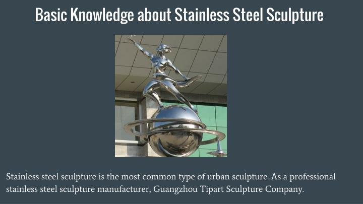Basic knowledge about stainless steel sculpture