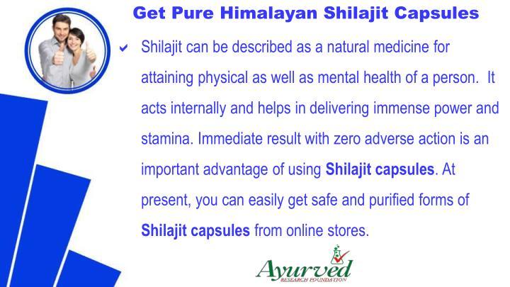 Get Pure Himalayan