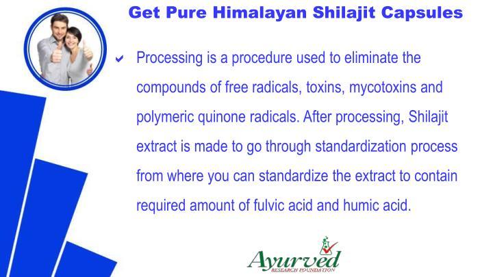 Get Pure Himalayan Shilajit Capsules