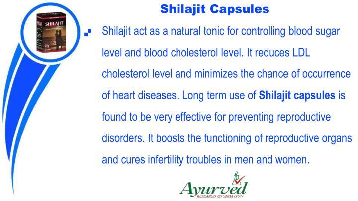 Shilajit Capsules