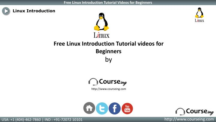 Linux Introduction