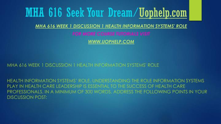 Mha 616 seek your dream uophelp com2