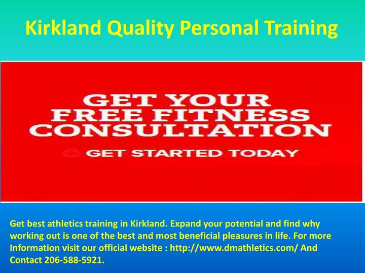 Kirkland Quality Personal Training