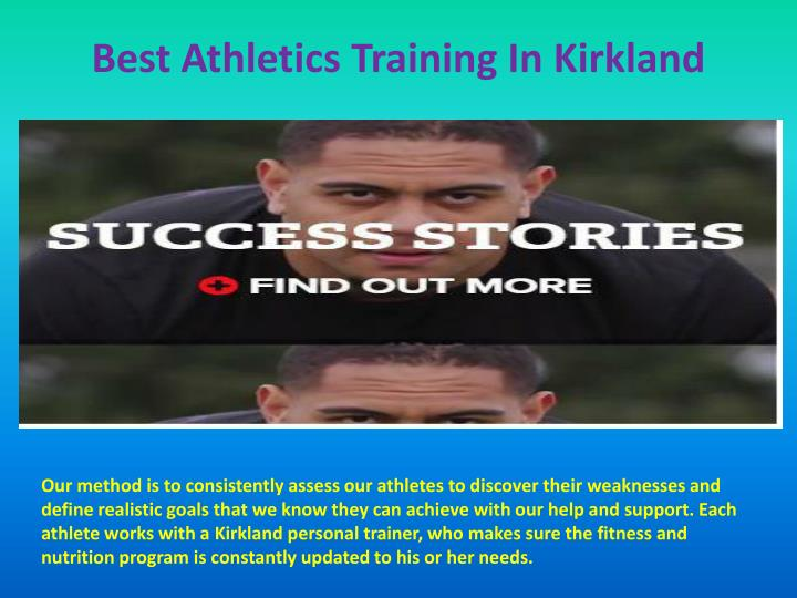 Best Athletics Training In Kirkland