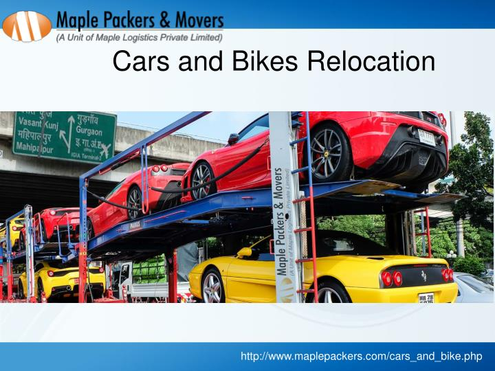 Cars and Bikes Relocation