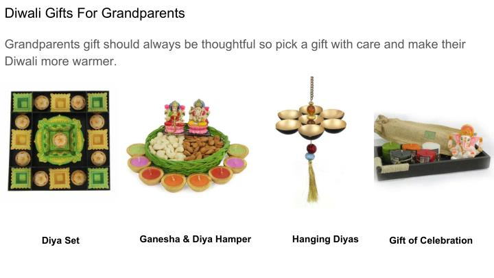 Diwali Gifts For Grandparents