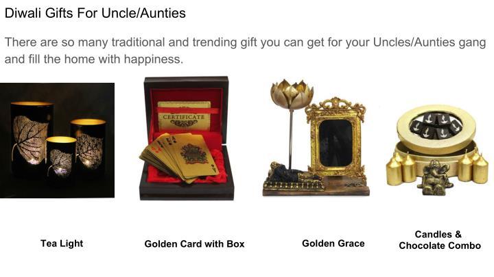 Diwali Gifts For Uncle/Aunties