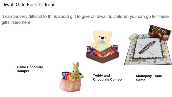Diwali Gifts For Childrens