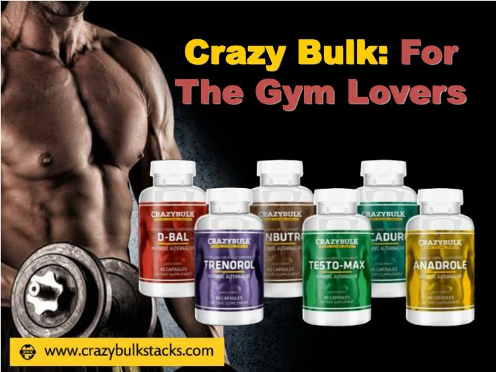 Crazy bulk for t he gym lovers