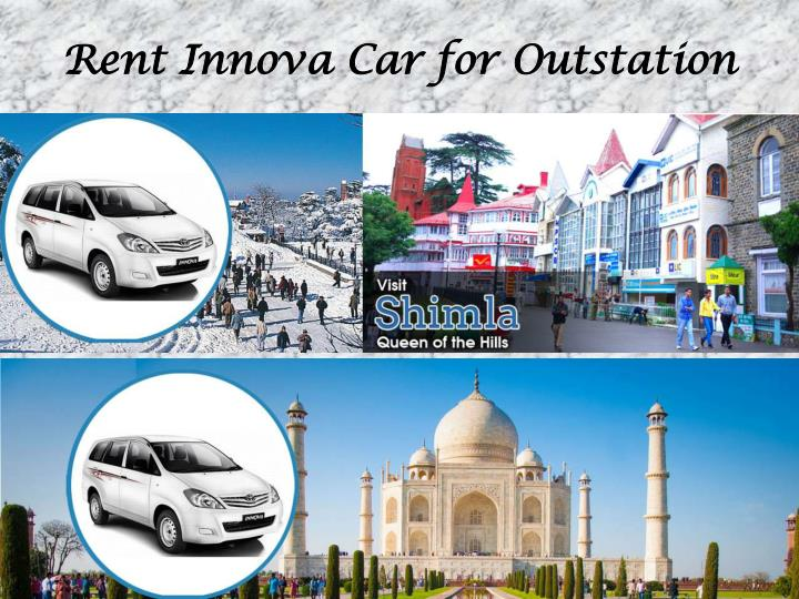 Rent Innova Car for Outstation