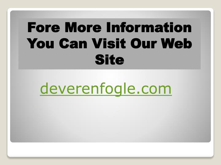Fore More Information You Can Visit Our Web Site
