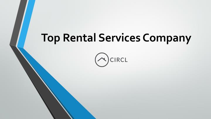 Top Rental Services Company