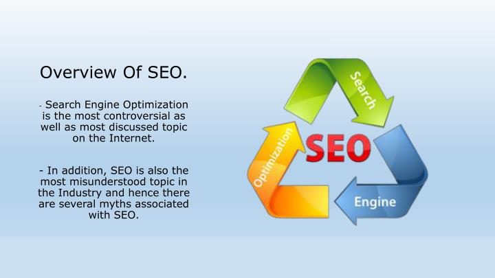 Overview Of SEO.
