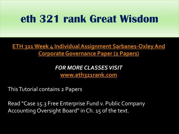 eth 321 rank Great