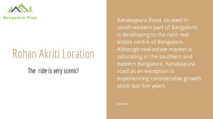 Kanakapura Road, located in