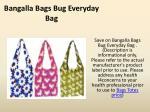 bangalla bags bug everyday bag