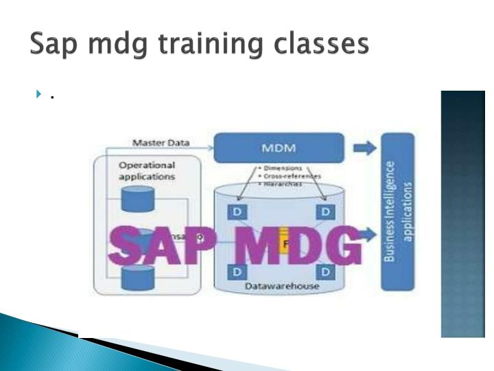 Sap mdg training classes