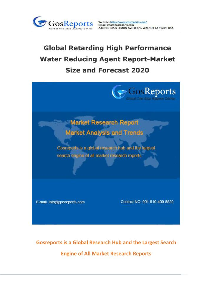 Global Retarding High Performance