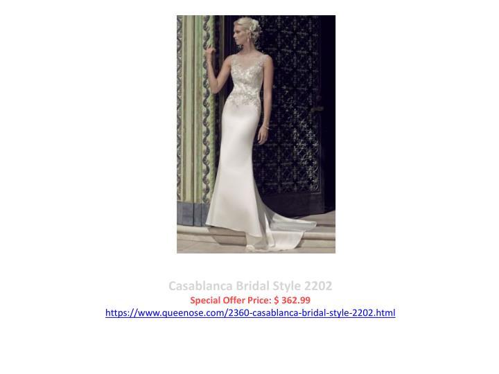 Casablanca Bridal Style 2202